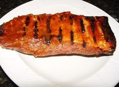 Oven Baked Barbecued Boneless Country Style Pork Ribs