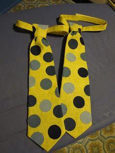 Boys Tie Pattern    gift idea