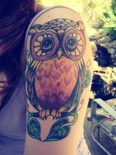 corujona mega power! lindaaaaa *-* | love tattoo | Pinterest