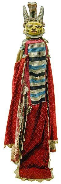 Yoruba Egungun Costume 2, Nigeria Photograph © Tim Hamill