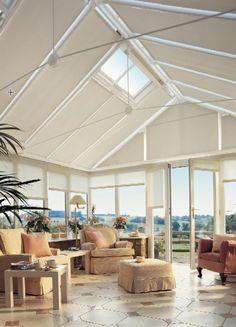 Lovely Floor to Ceiling Blinds