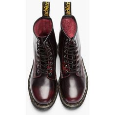 4b538087941 MARTENS    Burgundy Brushed Leather 1460 Boots rly want some Doc Martens  but their just so expensive