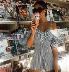 Summer treats @jordanyorn #WindsorStore  Romper linked in bio. 20% off sitewide ends tonight at 9pm pst. Use code social092017 Online only. Exclusions apply. Not valid on previous orders. Cannot be combined with any other offers.