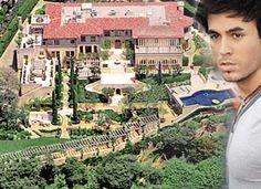Enrique Iglesias Celebrity Mansions, Celebrity Houses, Dream Mansion, Dream Homes, Enrique Iglesias, Rich Home, Million Dollar Homes, Expensive Houses, Paris Skyline