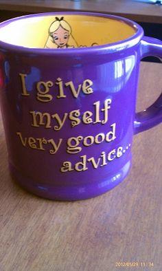 Disney Mug - Alice and Wonderland - Purple