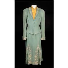 """Judy Garland """"Annie Oakley"""" two-piece dress with blouse from Annie Get Your Gun. (MGM, 1950).  A few weeks into production she was replaced with Betty Hutton."""