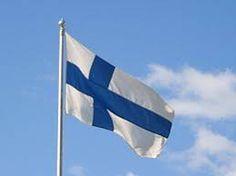 Risultati immagini per bandiera finlandia