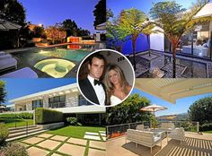 jennifer aniston bel air home | Jennifer Aniston and Justin Theroux Visit Their New Bel Air Home | E ...