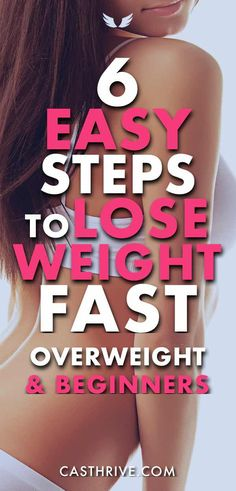 6 Easy Steps to Lose Weight Fast for Overweight & Beginners. Lose weight is a mental thing. You need to have the right mindset and be positive always. However, here is the but; many people have this behavior, a pattern I should say or bad habit that doesn't let us lose weight fast.  We assume we know everything about how to lose weight. Moreover, that is wrong. Is okay if you decide to lose weight right now, this day.