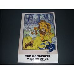 Preschool Classroom Themes: The Wizard of Oz