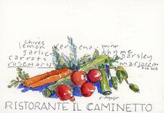 from my sketchbook in Italy by janelafazio, via Flickr