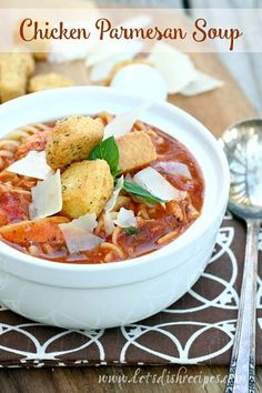 One of the things I look forward to most when cooler weather arrives is serving soup for dinner. Soup is such an easy meal, and always so comforting, and my husband declared this Chicken Parmesan Soup the best he's had in a while! The kids and I love it too. It's hearty, filling, and has...Read More