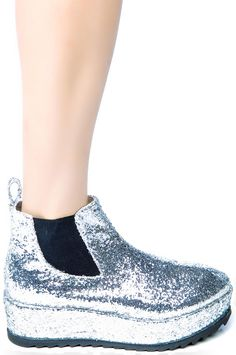 unif silver boots