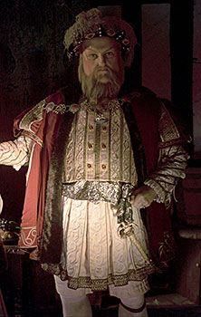 Wax Figure of Henry VIII.