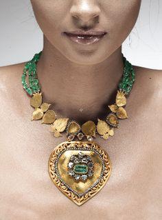 Amrapali Emerald Necklace
