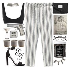 """""""I Got Broads In Atlanta"""" by alliedaddysgirl ❤ liked on Polyvore featuring MANGO, Rochelle Sara, MICHAEL Michael Kors, Yves Saint Laurent, Little Barn Apothecary, Repossi, ALDO, La Crosse Technology and vintage"""