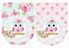 Resultado de imagen para plantillas para imprimir de tarjetas de cumpleaños de buhos