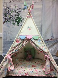 Teepee Kids, Teepee Tent, Teepees, Sleepover Party, Slumber Parties, Dream Bedroom, Girls Bedroom, Indoor Tents, Baby Barn