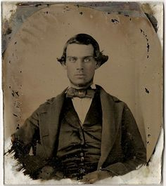 Unknown young man, ambrotype, c. 1855-60