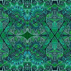 Dorothy Beholds the Emerald City fabric by edsel2084 on Spoonflower - custom fabric