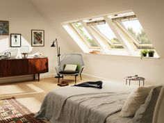 Die 64 besten Bilder von VELUX ♥ Schlafzimmer Ideen | Bed room ...