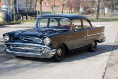 1957 Chevy Bel Air, Chevrolet Bel Air, Chevrolet Trucks, Chevrolet Impala, Best Classic Cars, Classic Cars Online, Chevy Classic, Detroit Cars, Diesel Trucks