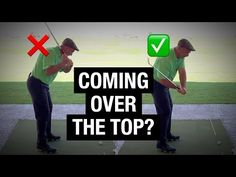 Stop Coming Over The Top! 2 Drills To Fix Your Downswing & Slice - YouTube