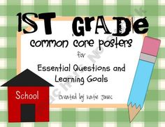 Grade Common Core {Essential Questions & Learning Goals - Marzano} Ocean-Beach-Classroom-t. Common Core Posters, Common Core Ela, Common Core Standards, 4th Grade Ela, 4th Grade Reading, Third Grade, Grade 2, Learning Goals, Learning Objectives