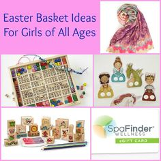 Easter Basket Ideas for Girls of All Ages