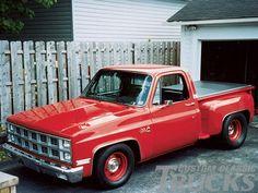 almost as cute as my trk 1987 Chevy Silverado, 87 Chevy Truck, Gmc Pickup Trucks, Chevy C10, Gm Trucks, Chevrolet Trucks, Station Wagon, C10 Stepside, Medium Duty Trucks