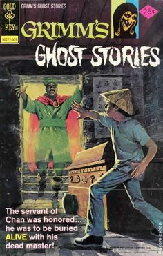 Grimm's Ghost Stories #26  Gold Key Comics  September 1975  $.25