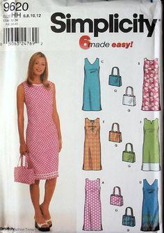 UNCUT Easy Sleeveless Summer Dress Plus Bag  by AlwaysMoreRoom, $3.99