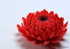 Tutorial - chrysanthemum without cutters