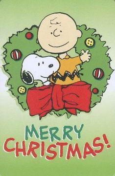 Christmas - Charlie Brown & Snoopy - Merry Christmas