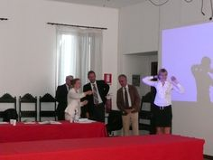 Fabrizia Zorzenon getting the PhD