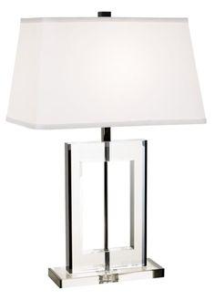 Vienna Full Spectrum Crystal Window Table Lamp - EuroStyleLighting.com