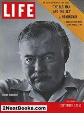 Ernest Hemingway life magazine cover: 1 Sep1952