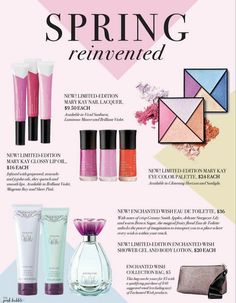 Spring Reinvented Mary Kay 2017! Cosmo says it's dreamy! www.marykay.com/aroder1