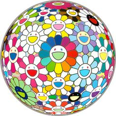 View Flower Ball (I Want to Hold You) by Takashi Murakami on the KUMI Contemporary website