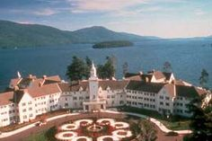 The Sagamore Hotel Located In Lake George Area Of Adirondack Mountains Was