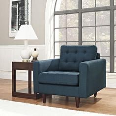 Modway Empress Upholstered Armchair.