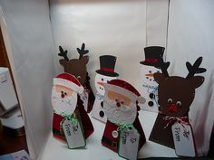 Christmas Containers & Robin's Creative Cottage Link Up Party