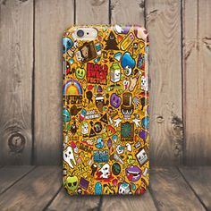 Emoji Sticker Bombing Hard Case Cover for iPhone 4 4s 5 5s 5c SE 6 6s plus iPod #Cover #Shockproof #Skin #Slim #Protector #Protective #Luxury #Phone #case #cover #Cheap #Best #Accessories #plus #Cell #Mobile #Hard #Pattern #Rubber #Custom #Ultra #Thin #silicone #plastic #laptop #macbook #Cracked #Classic #Granite #Retro #Grain #Illusion #Effect #Vintage #marble