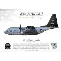 "KC-130J ""Super Hercules"" VMGR-352 ""The Raiders"" JP-1344"