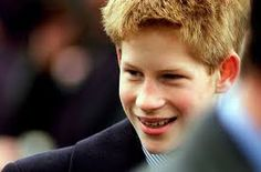 The young Prince Harry wore braces to improve his royal smile.