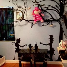 Alice-in-wonderland-decor-kids-room-ideas-alice-in-wonderland-bedroom-bedroom designs-home-decor-trends-2017-interior-design-2017