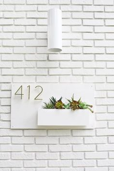 Increase your curb appeal with a modern looking DIY Address