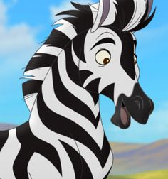 Thurston is a character that appears in The Lion Guard. He resides in the Pride Lands. Thurston is a proud zebra, albeit somewhat dimwitted. He is easily spooked, and will run at even the slightest hint of danger. Even simple concepts such as thunder confuse him, and it often takes extra explanation for him to understand a situation.