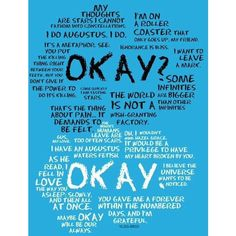 The Fault In Our Stars ❤ liked on Polyvore featuring tfios, the fault in our stars, quotes, art, backgrounds, text, magazine, phrase and saying