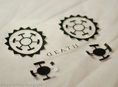 One PieceTrafalgar Law Temporary Tattoo *all of our temporary tattoos are pre-cut by hand.